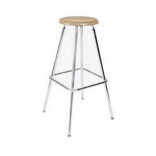 Academia hard plastic stool