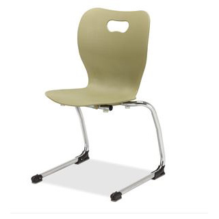 Alumni Integrity smooth cantilever stacking chair