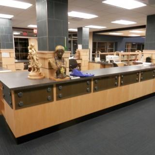 Library Circ desk