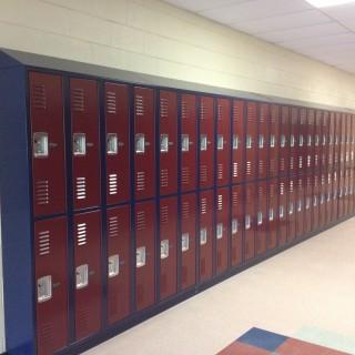 DeBourgh corridor lockers