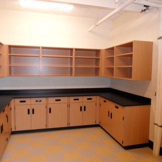 Science storage room