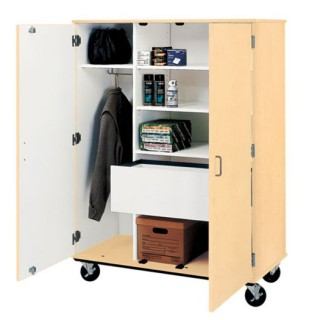 Stevens mobile classroom storage unit