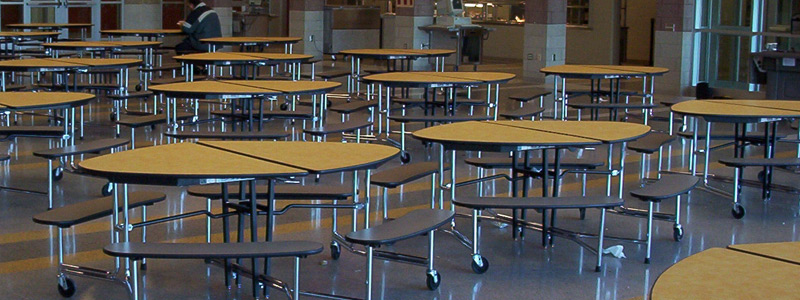 Cafeteria furniture & tables