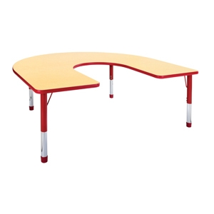 Classroom Horseshoe Activity Tables