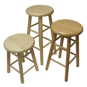 Hann wood stools for art, science & more!