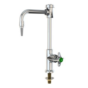 Water Saver( VR611VB ) Goose Neck  Single Faucet, Deck Mounted, Vacuum Breaker, single faucet with 6 inches rigid. List price $175.00. Warehouse Special $99.99. 10 in stock