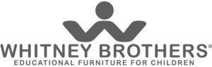 The Whitney Brothers logo for the educational furniture for children company